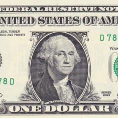 Bancnota Statele Unite ale Americii 1 Dolar 2003 (D = Districtul Cleveland) P515 - bancnota america