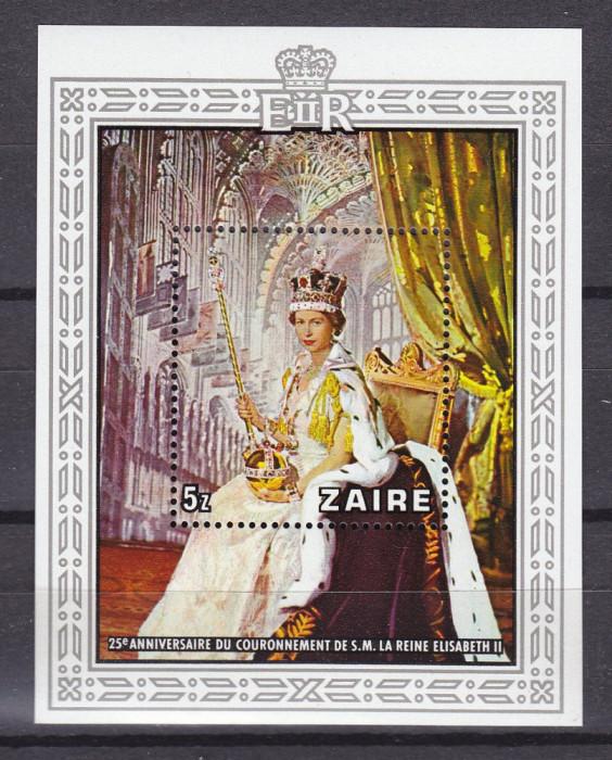 ZAIR 1978 REGINA ELISABETH COTA MICHEL 12 EURO