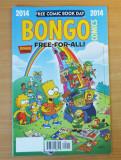 Bongo Free For All Simpsons #1 2014 Bongo Comics