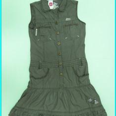 FRUMOASA _ Rochie / rochita moderna, bumbac, marca C&A _ fete | 8 - 9 ani, Marime: Alta, Culoare: Gri