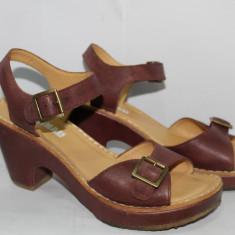 Sandale dama Clarks PIELE MAR. 41, Culoare: Visiniu