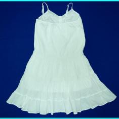 FRUMOASA _ Rochie de vara, panza bumbac, BLUE SEVEN _ fete | 11 - 12 ani 152, Marime: Alta, Culoare: Alb