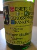 Vin alb  vechi german ,de colectie Franken Muller Thurgau 32 de ani