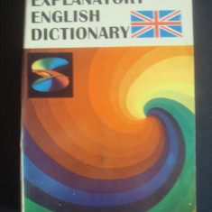 EXPLANATORY ENGLISH DICTIONARY