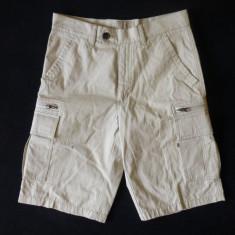 Pantaloni scurti Norskin cu Teflon, Made in Germany; marime 44: 76 cm talie, 53 cm lungime, 28 cm crac interior; 100% bumbac; stare excelenta - Bermude barbati, Culoare: Din imagine