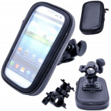 Suport bicicleta motocicleta impermeabil Samsung Galaxy S4 mini i9190 iphone 5