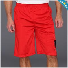 Pantaloni Scurti US POLO ASSN - Pantaloni Sport Barbati - 100% AUTENTIC - Pantaloni barbati US Polo Assn, Marime: L, Culoare: Rosu, L, Poliester
