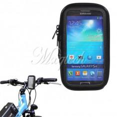 Suport bicicleta motocicleta impermeabil Samsung Galaxy S4 i9500 i9505 - Suport telefon bicicleta