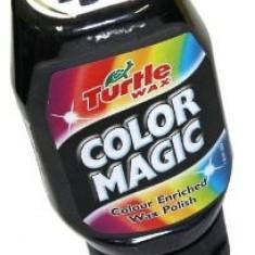 Polish Auto Negru Color Magic Turtle Wax pentru Vopsea Neglijata / Matuita