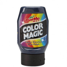 Polish Auto Color Magic Turtle Wax pentru Vopsea Albastra Neglijata Matuita