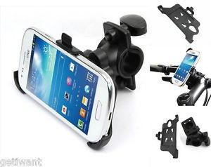 Suport bicicleta motocicleta Samsung Galaxy S4 mini i9190 + folie ecran