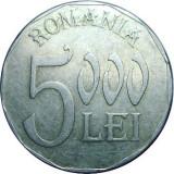 ROMANIA, 5000 LEI 2002, aluminiu * cod 79.08.18