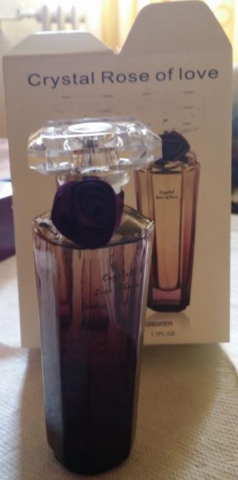 Tester Parfum Original Crystal Rose of love 35 ml