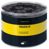 """Overgrip Kirschbaum """"Touch it"""" 0.5 mm negru/alb"""