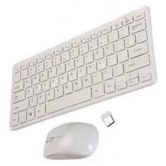Mini Tastatura Ultra Wireless kit + mouse 2.4 ghz, Fara fir, Bluetooth