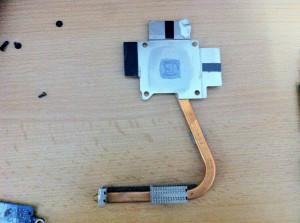 Sistem racire radiator si ventilator Toshiba satellite A200 (modelul cu placa video )