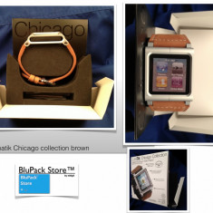 Luna Tik BROWN MARO IPOD NANO 6TH GENERATION iWATCH Chicago Collection Lunatik, Altele
