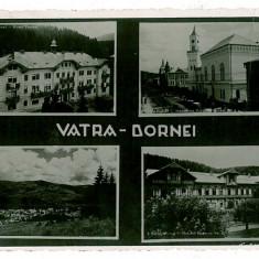 709 - Bucovina, VATRA DORNEI - old postcard, CENSOR, real PHOTO - used - 1940 - Carte Postala Bucovina 1904-1918, Circulata, Fotografie