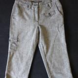 Pantaloni ¾ Cecil birou / office; marime 27: 76 cm talie, 77 cm lungime; ca noi