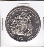bnk mnd British Antarctic Territory 2 pounds 2008 unc