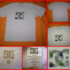 DC SHOES -  Tricou  - MADE IN FRANCE