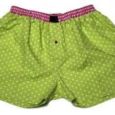 Boxeri Unisex pentru dormit - Pijamale dama, Marime: XXL, Culoare: Verde