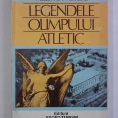Legendele Olimpului atletic - Vladimir Moraru / R2P4F - Carte sport
