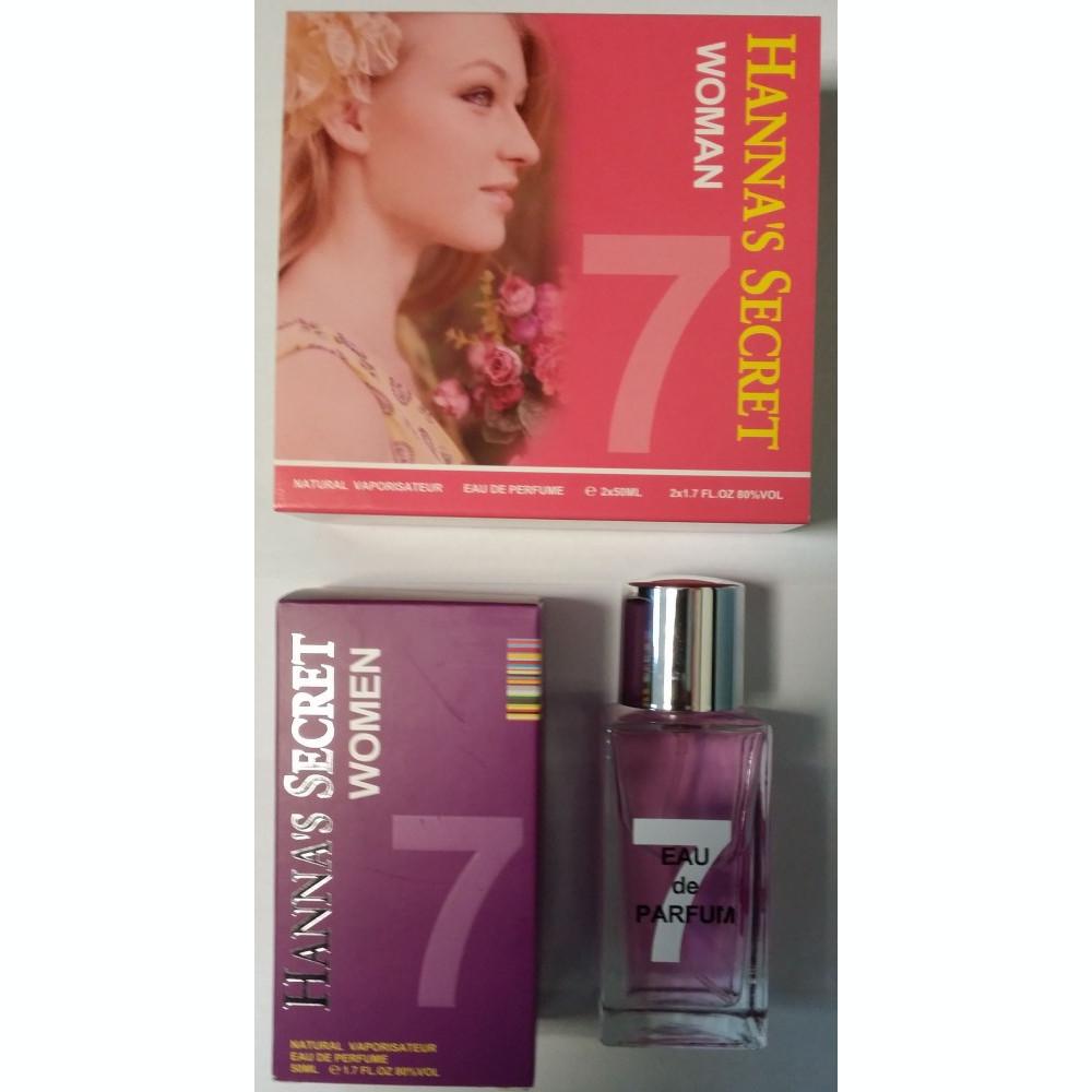 Tester Apa de Parfum Hannas Secret 4 pentru Ea 50 ml