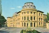 Carte postala CP DJ003 Craiova - Liceul Nicolae Balcescu - circulata 1963