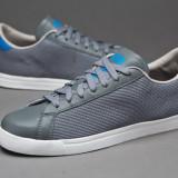 39 1/3_Adidasi Adidas Originals_piele naturala_gri_tenisi barbati_ in cutie