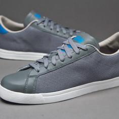 39 1/3_Adidasi Adidas Originals_piele naturala_gri_tenisi barbati_ in cutie - Adidasi barbati