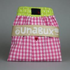 Boxeri Unisex pentru dormit - Pijamale dama, Marime: XXL, Culoare: Roz