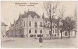 Sebesul Sasesc,Primaria (Sebes,Alba),circulata la Sibiu,interbelica,animatie