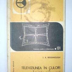 Colectia radio si televiziune Nr. 131 J. A. Reddihough TELEVIZIUNEA IN CULORI - Intrebari si raspunsuri - Carti Electronica