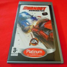 Joc Burnout Dominator, PSP, original, alte sute de jocuri! - Jocuri PSP Electronic Arts, Curse auto-moto, 12+, Single player