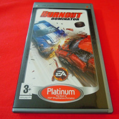 Joc Burnout Dominator, PSP, original, alte sute de jocuri! - Jocuri PSP Electronic Arts, Curse auto-moto, 12+, Single player