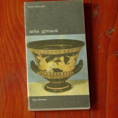 Carte ---- Rene Ginouves - Arta Greaca - Ed. Meridiane 1992 - 216 pagini