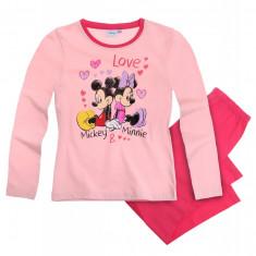 Pijama 2-8 ani - Minnie - roz, Marime: Alta