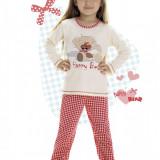 Pijama fete 2-12 ani - art 811 happy bear