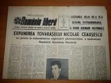 ziarul romania libera 16 februarie 1968- expunerea lui ceausescu
