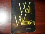 WALT  WHITMAN  -  POEME    ( format mai mare, 271 pagini )  *, Alta editura