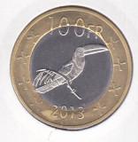 Bnk mnd Katanga 100 franci 2013 unc , fauna , bimetal
