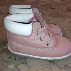 Ghete Copii Timberland 18, 5 - Pantofi copii Timberland, Culoare: Roz, Fete