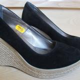 Pantofi piele mar.37