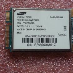 MODUL 3G SAMSUNG Y3100 NC10 UMTS HSDPA WWAN PERFECT FUNCTIONAL - Adaptor PCMCIA Samsung, 3G/ GPRS Data