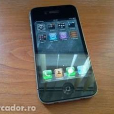 Vand/schimb iPhone 4 Apple 16gb decodat gewey sim, Negru