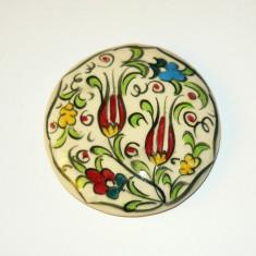 Magnet de frigider - CERAMIC - FLORI - LALEA - TURCIA - de colectie - 2+1 gratis toate produsele la pret fix - RBK6051 - Arta Ceramica