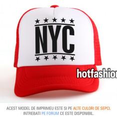 SAPCA, SEPCI TRUCKER, cu plasa, snapback - NEW YORK CITY - unisex, - exclusiv ! - Sapca Barbati, Marime: Marime universala, Culoare: Din imagine