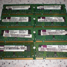 kit memorie laptop 2 Gb ddr2 800 mhz pc2-6400 ,  2 x 1Gb kingston