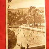 Ilustrata Geoagiu Bai - Strandul, circulat 1956